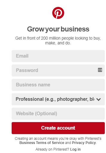 business login pin