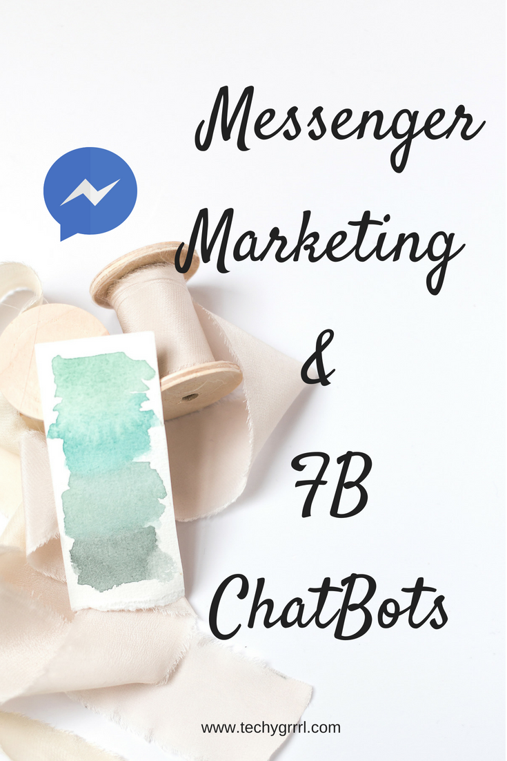 FB messenger and chat bots