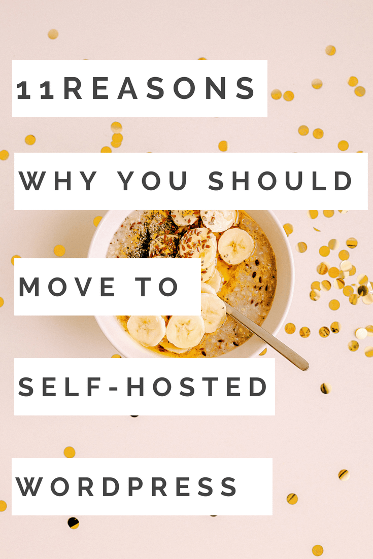 WHy you should move your website to a self hosted WordPress