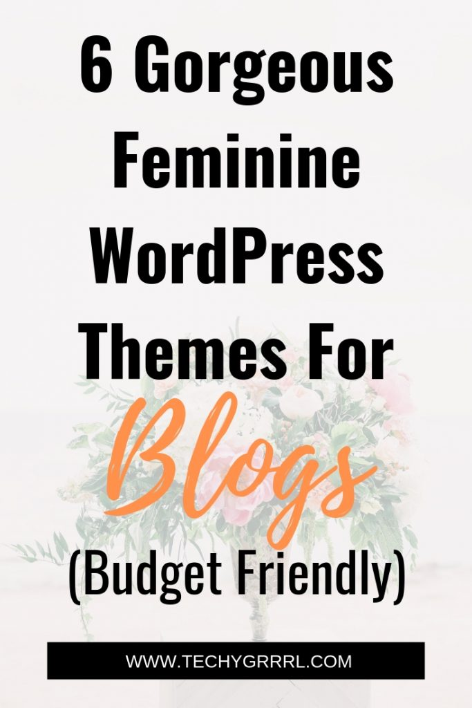 Best Feminine WordPress Themes For Blogs