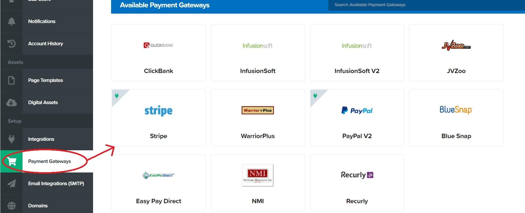 Clickfunnels payment integration